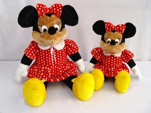 Мягкая игрушка Мышь Минни средняя